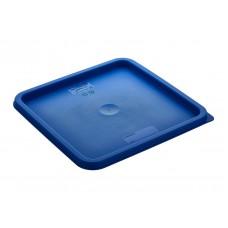 2LB Крышка для контейнера для продуктов из полипропилена на 1,9 л/3,8 л (синяя) GastroPlast
