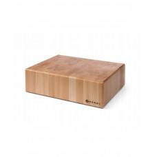 505649 Блок разделочный деревянный без подставки, 400x500x200 мм Hendi