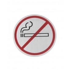 """663790 Табличка информационная самоклеящаяся """"Не курить"""", Ø75 мм Hendi"""