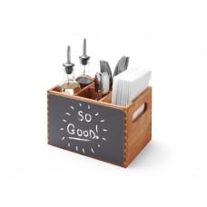 664148 Hendi (Хенди) Подставка - меню для столовых приборов и специй