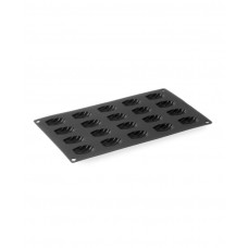 677308 Форма силиконовая Mini-Madeleines, 40x28x8 мм, 20 ячеек Hendi