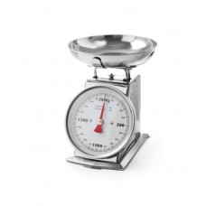 980033 Весы кухонные с чашей до 2 кг, 210x140x255 мм Hendi