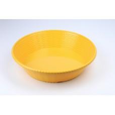 Блюдо круглое из меламина 23,9х7,2 см, песочное CJ688-9.5 S