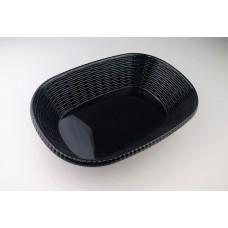 Купить с доставкой Блюдо овальное из меламина 29,5х20,8х6,8 см, черное CJ285-11.6 B