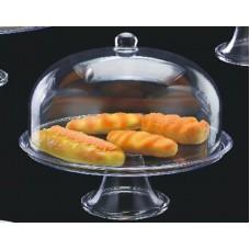 Купить Подставка для торта с крышкой акрил 34.5х34.5х37 см арт 4170
