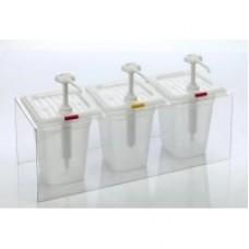 03DP Дозатор для соуса (тройной) GastroPlast