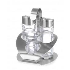 465325 Набор для специй из 3 частей (соль, перец, зубочистки) Hendi
