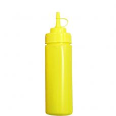 Бутылка для соусов с мерной шкалой 360 мл желтая LBSD12Y