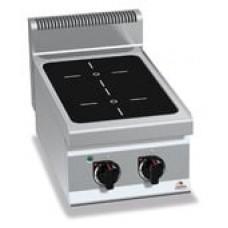 Профессиональная индукционная плита Bertos E7P2B/IND