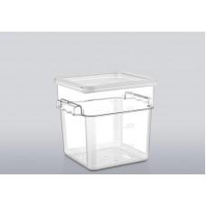 2LSC Крышка для контейнера для продуктов из поликарбоната на 1,9 л/3,8 л GastroPlast