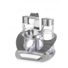 465332 Набор для специй из 3 частей (соль, перец, пармезан) Hendi
