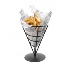 630938 Подставка для картофеля-фри черная- ø115x(H)172 mm Hendi (Хенди)