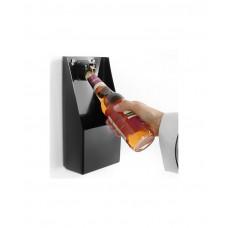 643914 Открывалка для бутылок с контейнером для крышек Hendi