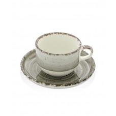 775271 Чашка с блюдцем Agat 90 мл Fine Dine