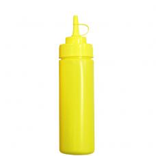 Бутылка для соусов с мерной шкалой 710 мл желтая LBSD24Y